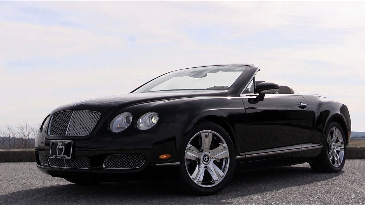 2008 Bentley Continental Gtc Review Youtube
