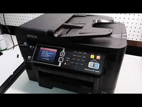 Epson Workforce WF-3640 Fix error code 0xE3, 0xE5, 0xEA. Resolve Paper Jam Issues WF-3620, WF-3540