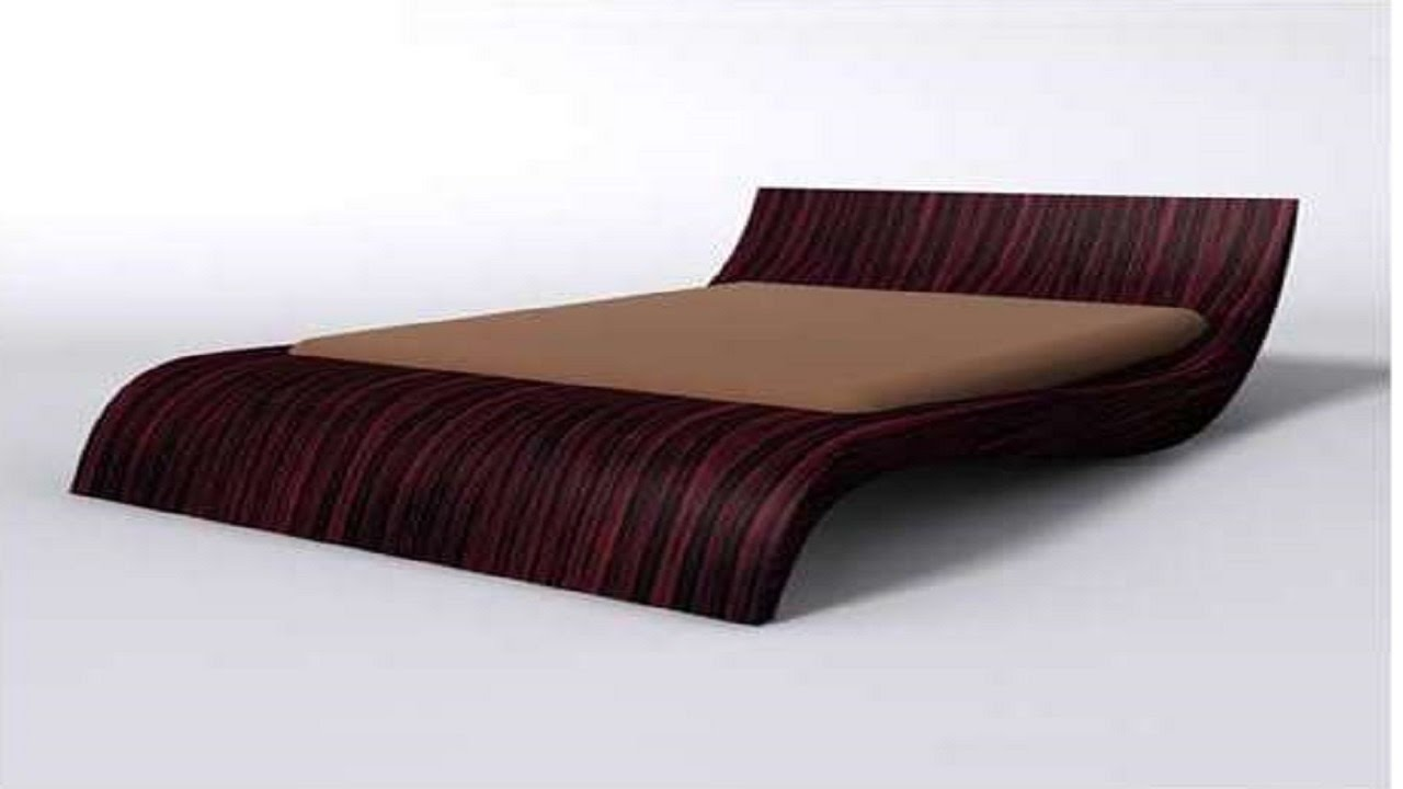 Inspiring interior bedroom bed designs wooden bed designs youtube - Design of bed ...