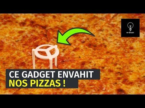 QUEL EST CE GADGET QUI ENVAHIT NOS PIZZAS ?
