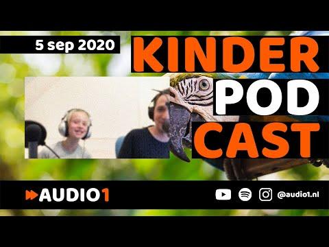 Kinderpodcast   5-9-2020   AUDIO 1   Papegaai   Roblox   Kinderen