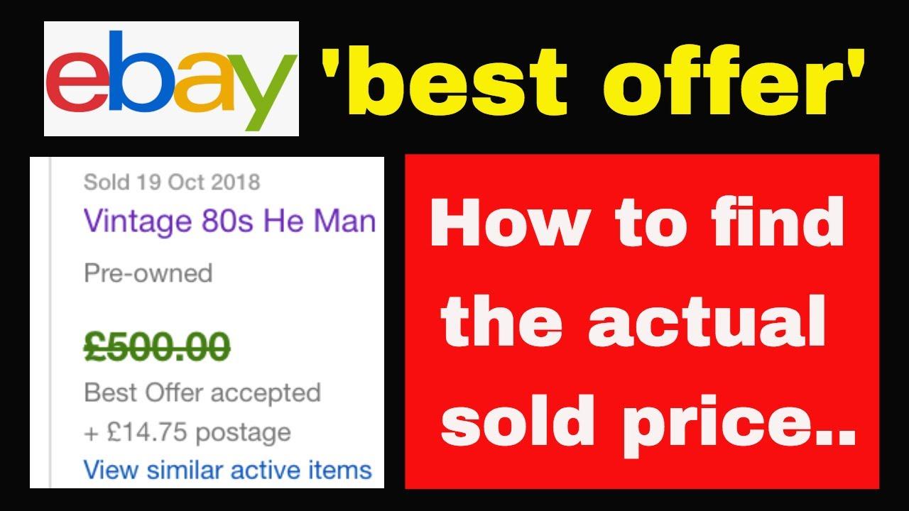 Ebay Preise