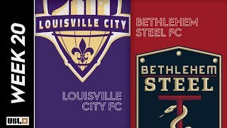 Louisville City FC vs. Bethlehem Steel FC: July 20th, 2019