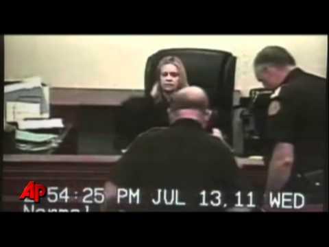 Raw Video: Woman Attacks Judge During Hearing