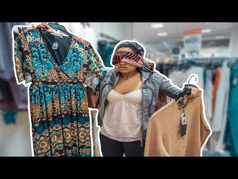 Blindfolded Shopping Challenge!