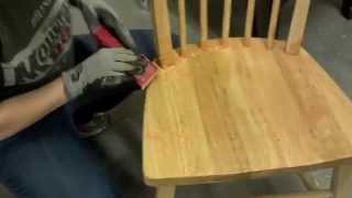 Refinishing Wood Furniture - Part 1 - Stripping