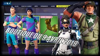 FORTNITE: April 9th shop, footballer skins, red card emote, New shop, item shop