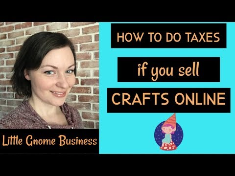 Tax Tips for Crafters and Etsy Sellers