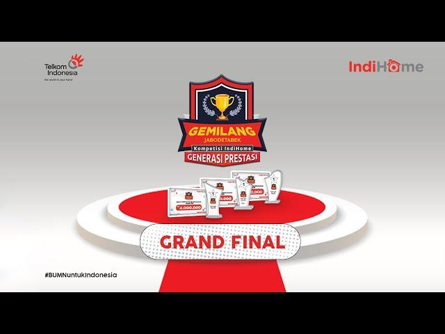 Final Kompetisi IndiHome Generasi Prestasi Gemilang Jabbodetabek