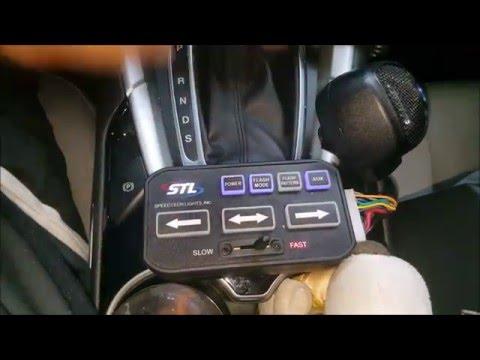 STL Speedtech Light Striker 8 TIR (amber) with 2 Striker Grille