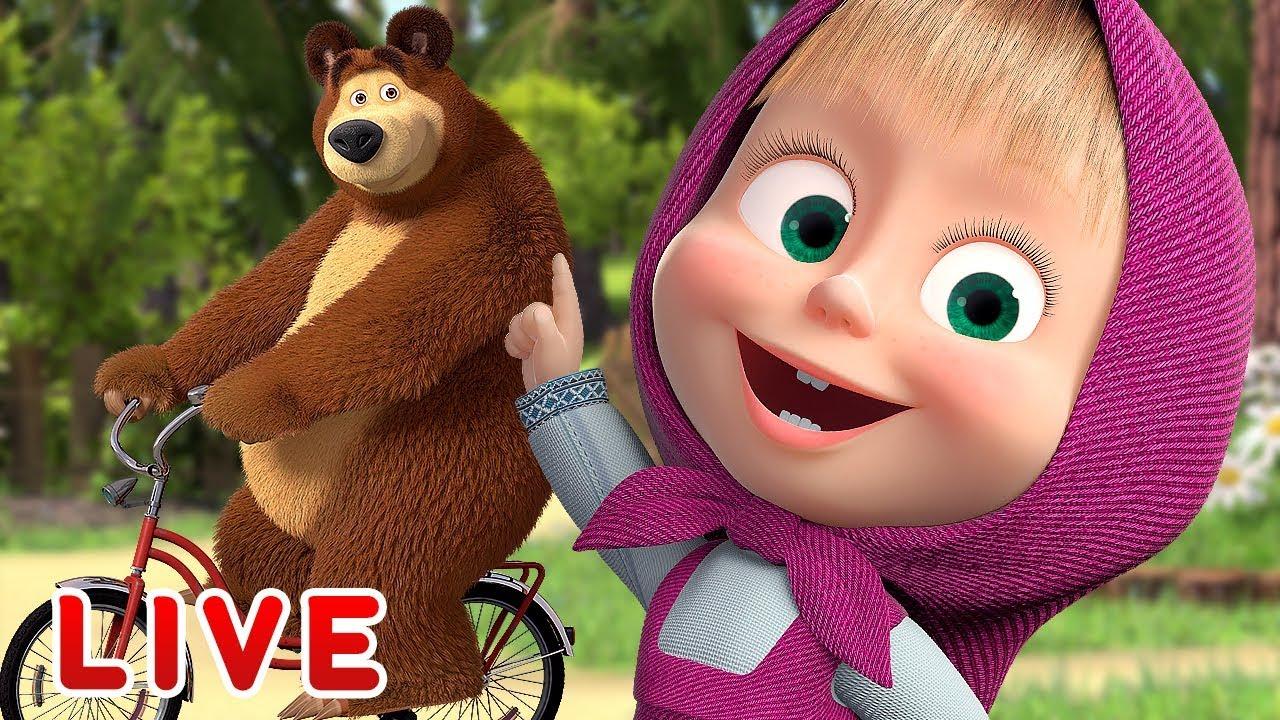 Download Masha y el Oso - Todos Los Episodios 🎬 Dibujos Animados en Español!