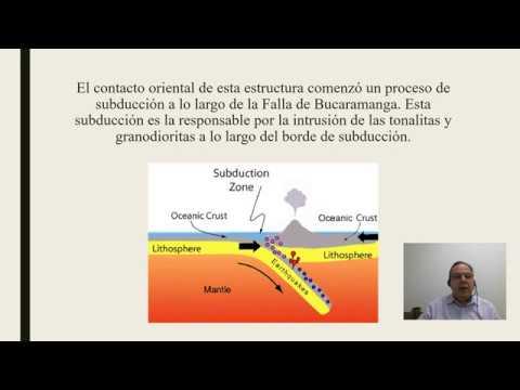 Evolución geológica de Rionegro, Santander, Colombia