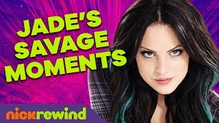 Jade Wests Top 27 Most Savage Moments on Victorious 🖤 NickRewind