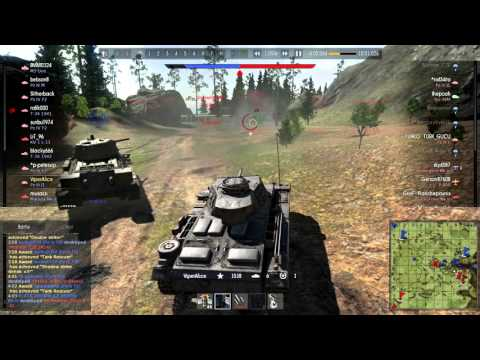 Local Pz.III J1 wipes out enemy base