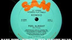 RARE FUNK - KOMIKO - FEEL ALRIGHT BY DR JEKYL WWW.FUNKPOWER.FR