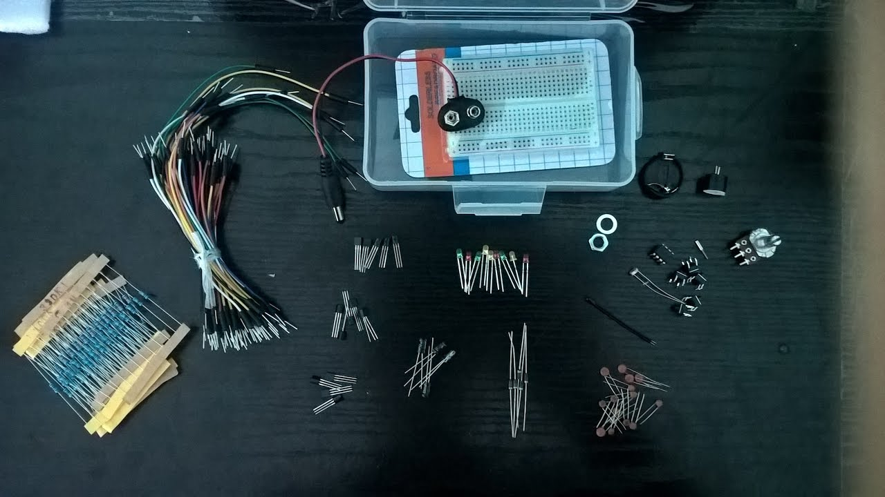 Arduino Kit For Beginners Unboxing Youtube 13 Arduinokit