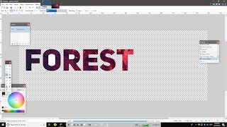 [Tutorial] How to Fill Text With an Image Using Paint.NET