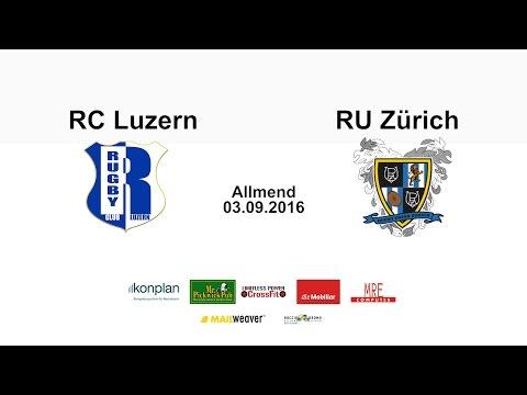 Rugby Club Luzern vs. Rugby Union Zürich