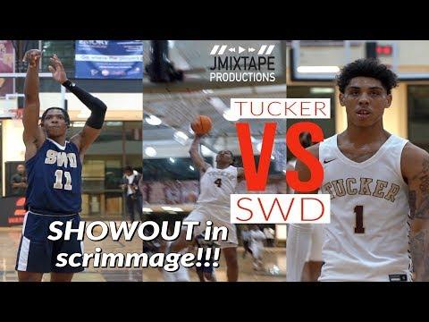 Ohio State Commit Eugene Brown III Battles Jermontae Hill | Tucker Vs SWD Full Game Highlight