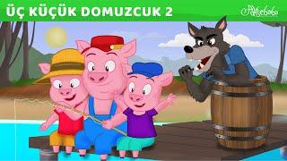 Üç Küçük Domuzcuk Kampta (YENİ) - Adisebaba çizgi film masallar