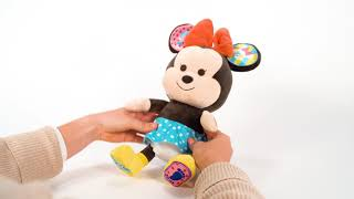 Disney Hooyay Hug and Play Minnie | Product Demonstration Video | Plush Toys For Kids