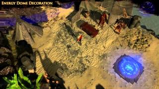 Path of Exile - Energy Dome Hideout Decoration