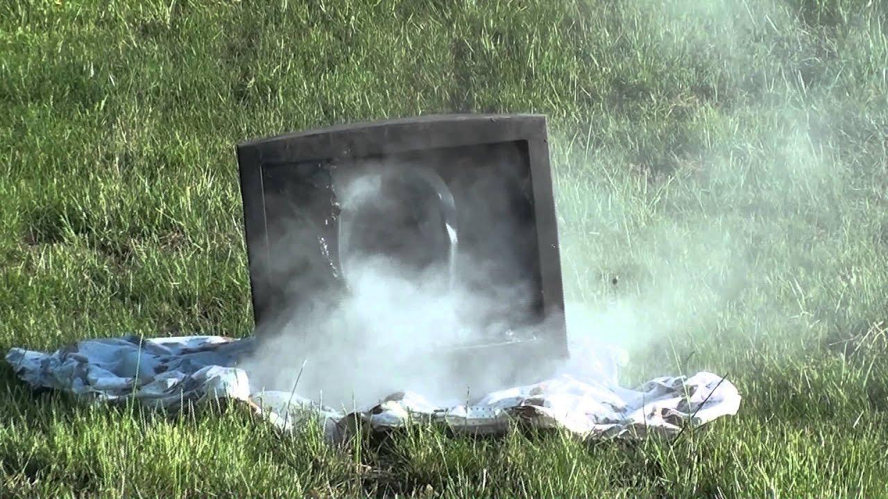Shooting TV with 12 Gauge Shotgun Slugs - YouTube