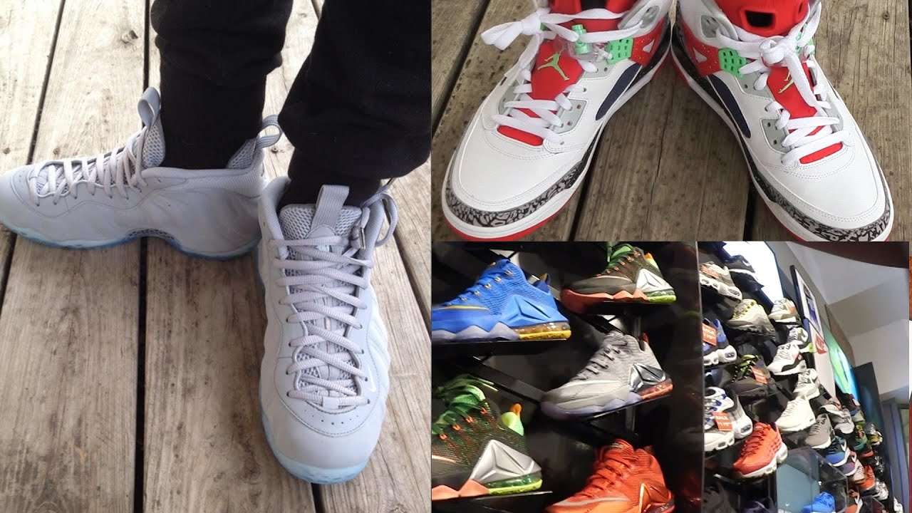 9db71281eef55f Buying New Pair Of SHOES! Cash Nasty s Shoe Collection! Nike Wolf Foams!  Sneaker Head Ep.1