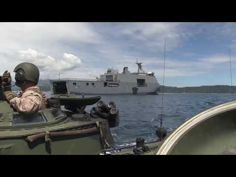 Inside the Philippine Navy's BRP Tarlac During  Ship to Shore Amphibious Operation
