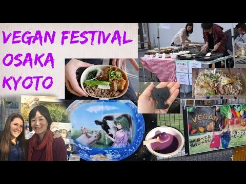 Vegan Festival in Osaka and Kyoto