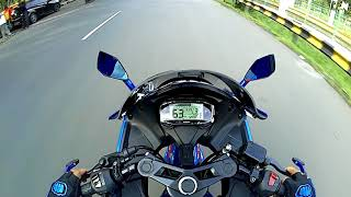 Test Speed GSX R150