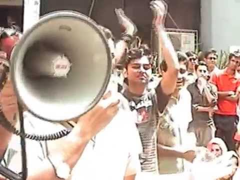 North South University - NSU Tuition Fee Hike Protest 2009 :: Part One