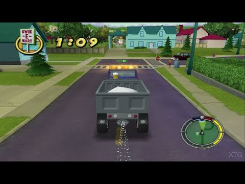 The Simpsons: Hit & Run PS2 Gameplay HD (PCSX2)