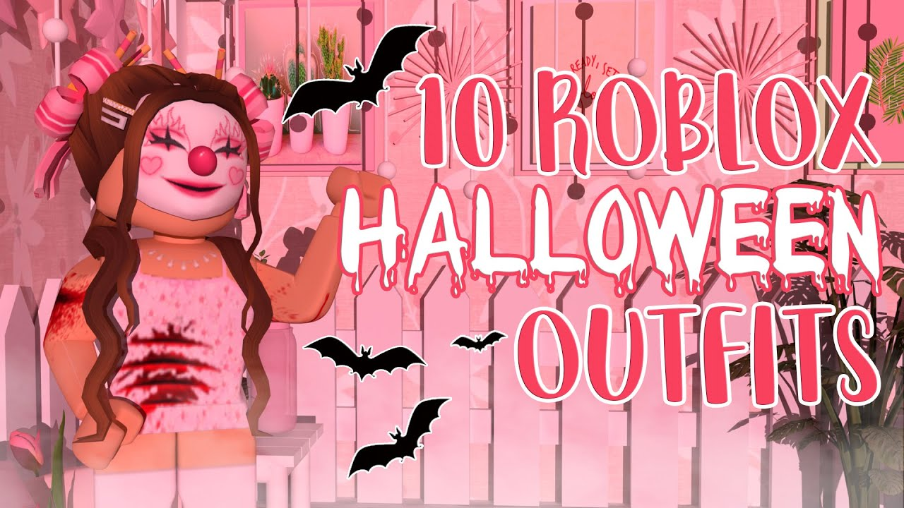 Cute Roblox Adopt Me Halloween Outfits 10 Aesthetic Halloween Roblox Outfits Giveaway Closed Mxddsie Youtube