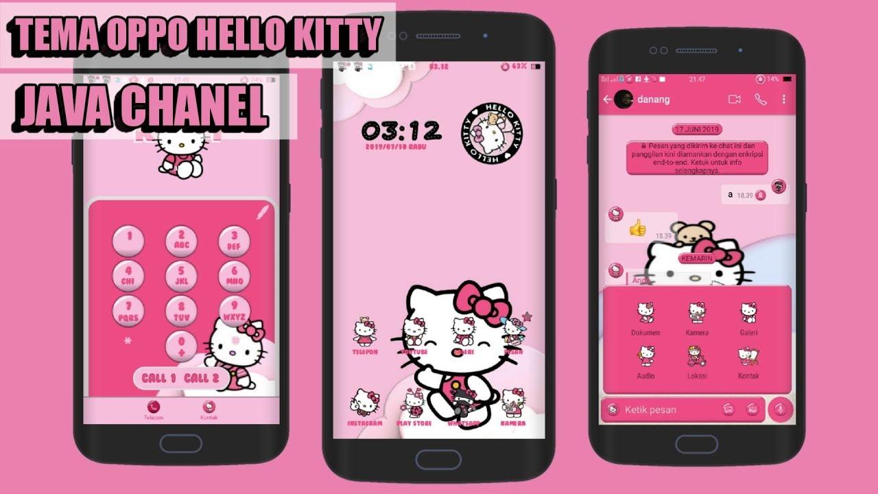 oppo a37 theme hello kitty