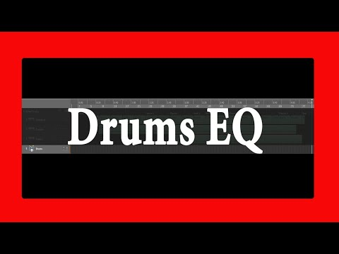 Drums EQ - The easy way | Theo Nt | theont.com