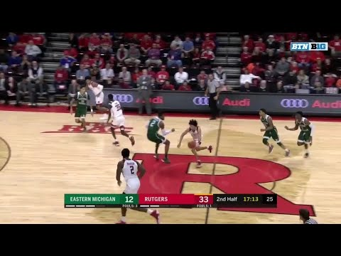 Highlights: Eastern Michigan Eagles at Rutgers Scarlet Knights | Big Ten Basketball