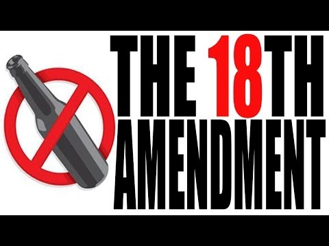 The 18th Amendment Explained: The Constitution for Dummies Series