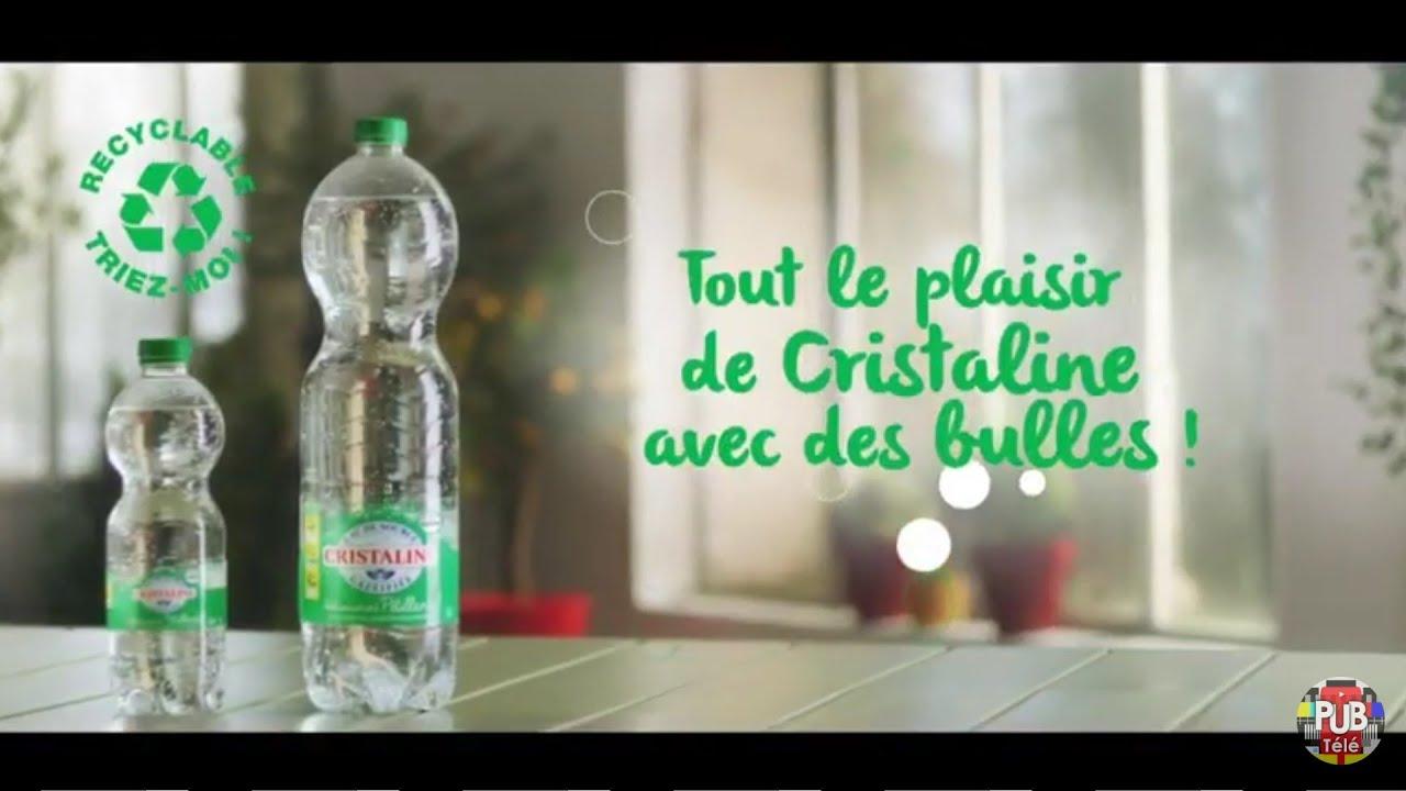 """Musique de la pub Cristaline – bouchon solidaire """"tout le plaisir de Cristaline avec des bulles"""" Pub 23s Septembre 2021"""