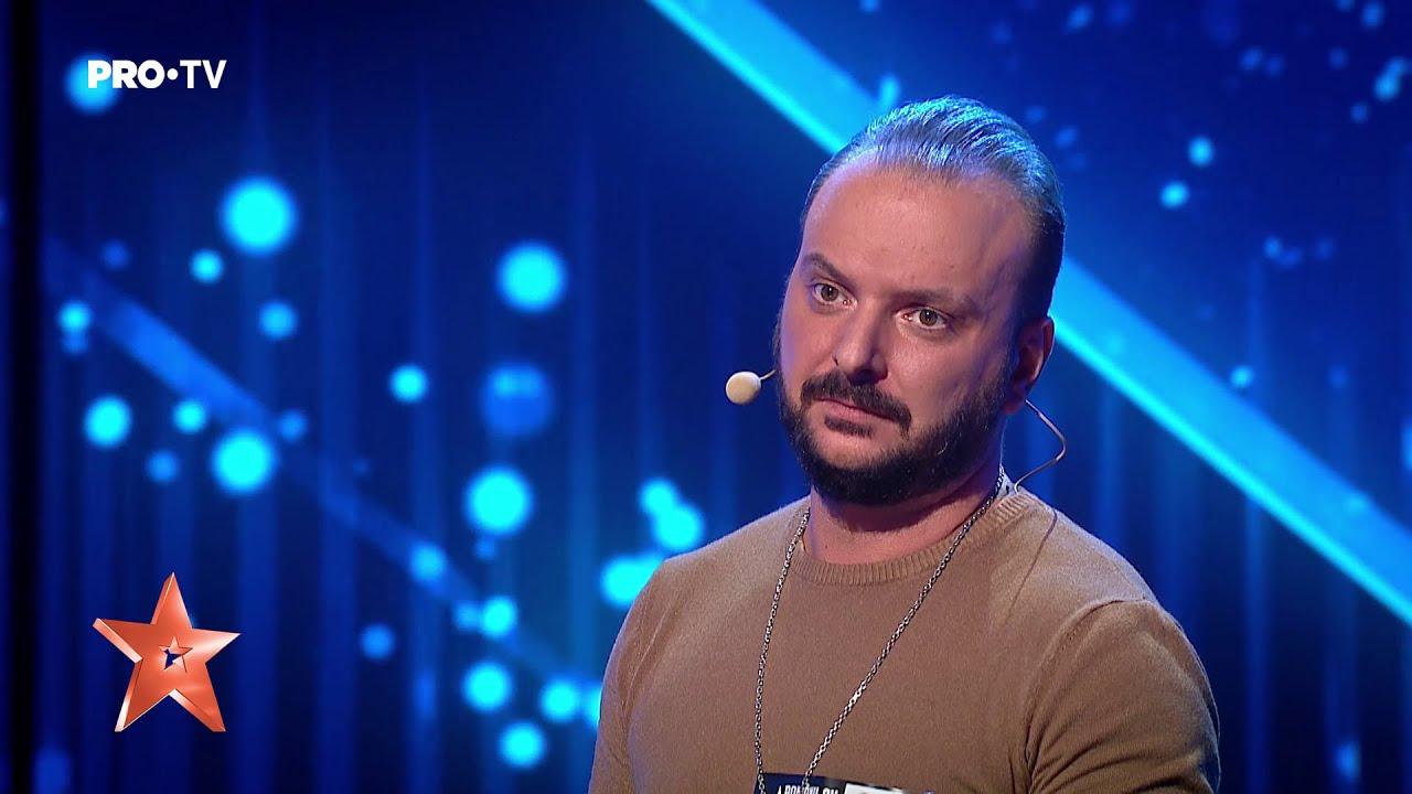 Simion Ștefan, moment spectaculos de magie la Românii au talent