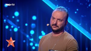 Simion Ștefan, moment spectaculos de magie la Românii au talent