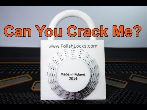 [283] Uncrackable Combination Lock? | Polish Lock Unboxed