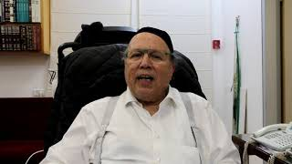 Rav Bina Message - Pre-Charidy 2018