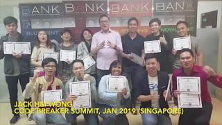 Mentorship Program   Code Breaker Summit Batch 3 - Singapore (12 & 13 January 2019)