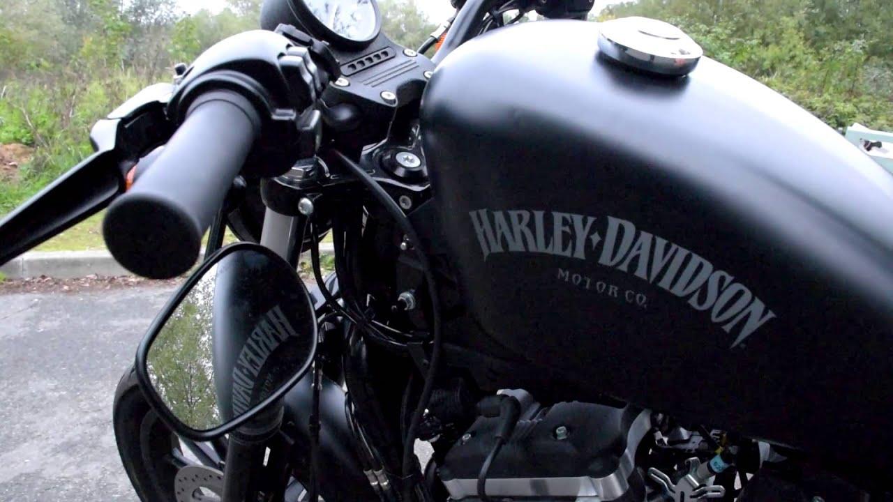 Harley Davidson Iron 883 Vance Hines Exhaust