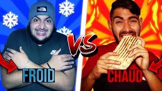 ON MANGE CHAUD VS FROID PENDANT 24H ! 🔥/❄
