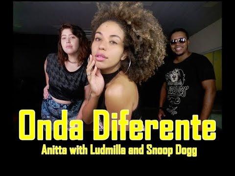 Onda Diferente - Anitta ft Ludmilla & Snoop Dogg Coreografia