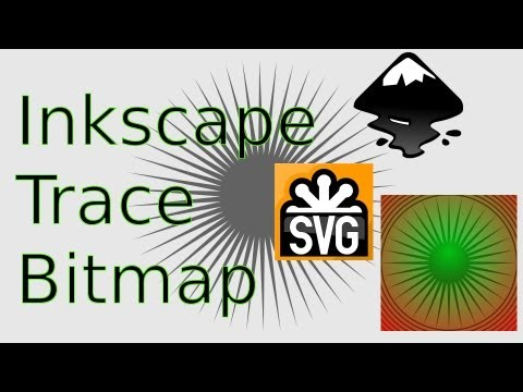 Inkscape: How To Trace Bitmap