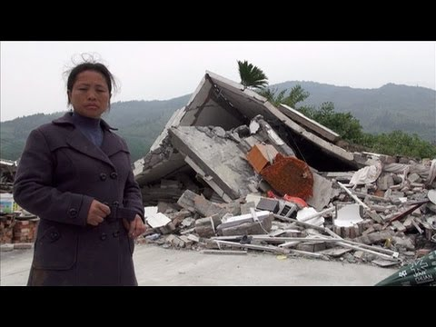 Families left with nothing after earthquake in Sichuan, China