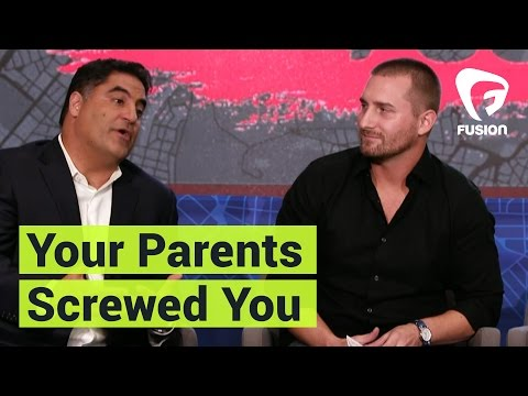 Cenk Uygur of The Young Turks Shares His Theory on Millennials: Your Parents Screwed You